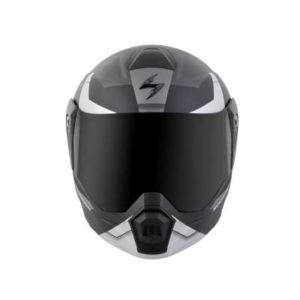 scorpion exo at950 neocon dual sport helmet front view