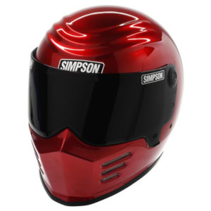 simpson-outlaw-bandit-helmet-red-front-view