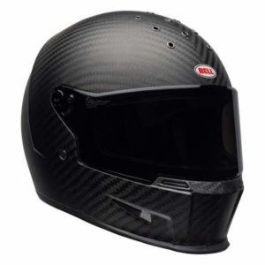 Bell eliminator helmet matt carbon front view