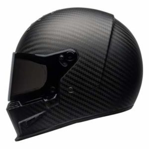 Bell eliminator helmet matt carbon side view