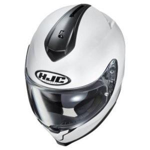 HJC-C70-white-helmet-top-down-view