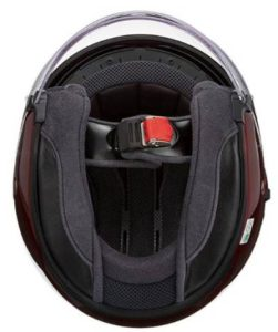 Shoei J-Cruise motorcycle helmet interior view