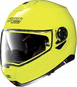 nolan-n100-5-hi-vis yellow side view