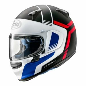arai profile v tube motorcycle helmet side view