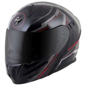 scorpion exo gt920 satellite modular helmet side view