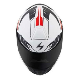 scorpion exo gt920 shuttle modular helmet top view