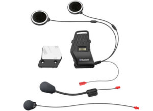 Sena 10S mount clamp with wired microphone and speaker