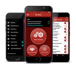 Sena-10S-smartphone-app-Bluetooth-Headset-Intercom-Sena
