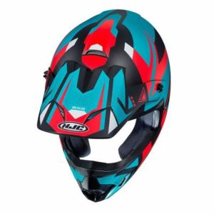 hjc cs-mx 2 madax motocross helmet top view