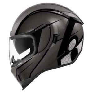 icon airform conflux motorbike helmet side view