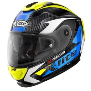 x-lite x-903 ultra carbon nobiles carbon blue yellow side view