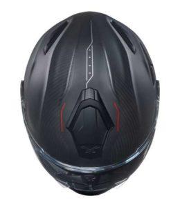 Nexx X.Vilitur carbon zero modular motorbike helmet top view