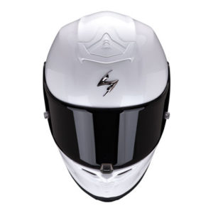 scorpion-exo-r1-air-gloss-white-sports-helmet-front-view
