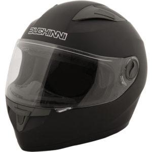 Duchinni-D705-matt-black-motorcycle-helmet-front-view