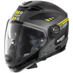 Nolan-N70-2-GT-Bellavista-grey-yellow-helmet-side-view