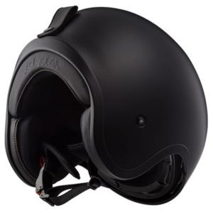 LS2-Spitfire-open-face-crash-helmet-matt-black-bottom-view