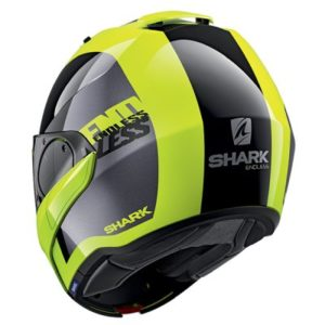 Shark Evo ES Endless flip up helmet rear view