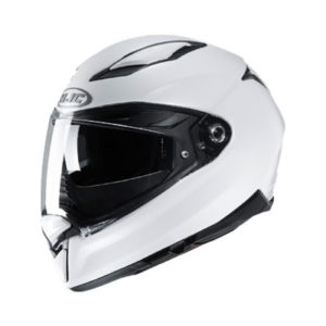 hjc-f70-solid-white-motorcycle-crash-helmet-side-view