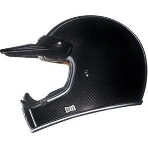 Nexx-XG200-carbon-fibre-retro-motocross-helmet-side-view