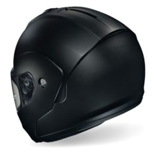 hjc-c90-modular-helmet-matt-black-rear-view