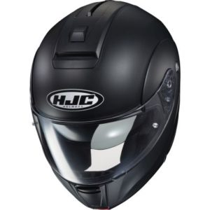 hjc-c90-modular-helmet-matt-black-top view