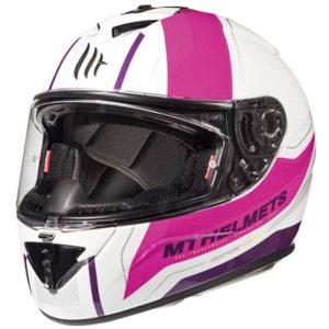 mt-rapide-pearl-pink-sportsbike-helmet-front-view
