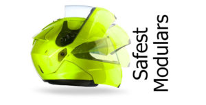 safest and best protecting modular motorbike helmets