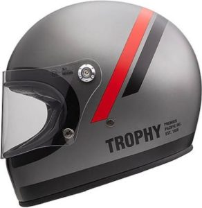 Premier trophy DO 17 retro helmet side view