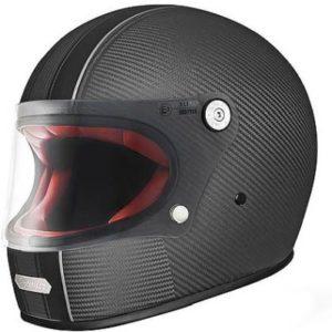 Premier trophy carbon T9 full face helmet side view