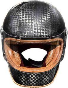 Premier trophy carbon tech helmet ltd ed front view