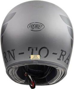 Premier trophy classic helmet BTR 17 rear view