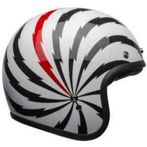 bell custom 500 dlx vertigo helmet side view