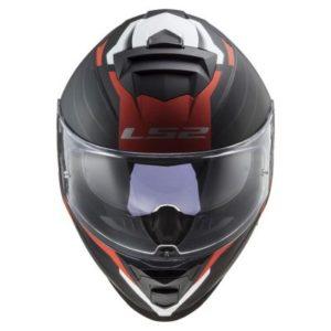 ls2 assault nerve helmet top view