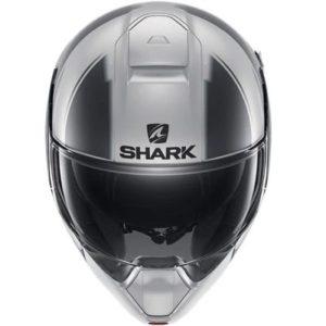 shark evojet vyda flip-up helmet front view