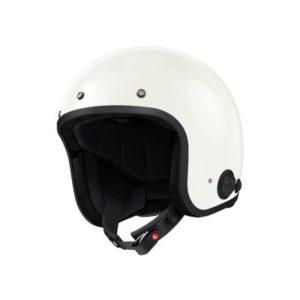 sena savage bluetooth headset helmet gloss white front view