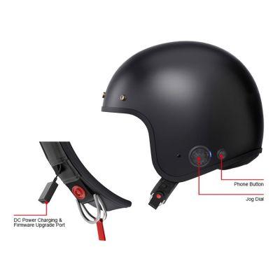 sena savage bluetooth helmet charger view