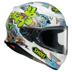 shoei rf-1400 helmet mural graphics side view