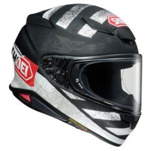 shoei rf-1400 scanner helmet side view