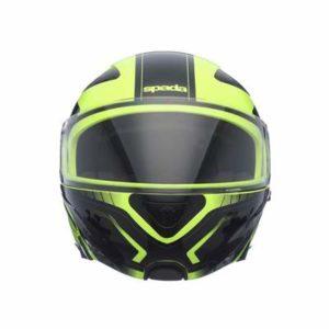 spada reveal tracker hi vis motorbike helmet