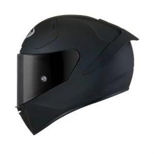suomy SR-GP FIM racing helmet flat black side view