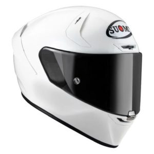 suomy SR-GP FIM track helmet white side view
