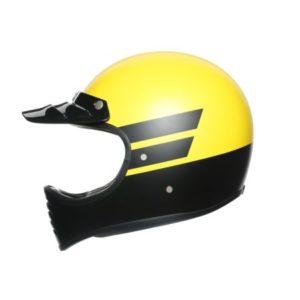 AGV X101 dust dakar retro motocross helmet side view