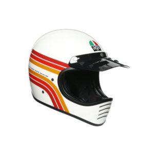 AGV X101 multi dakar retro motocross helmet
